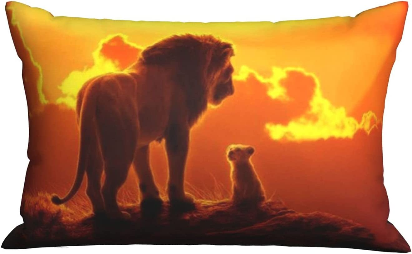 Free Shipping New The Lion King Sunset Bed Pillows Queen 20 Inches Size X 30 Factory outlet Luxu