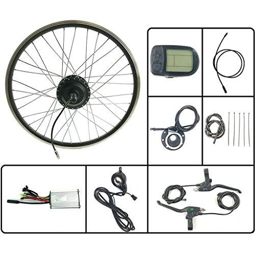 Elektronische Bike Conversion Kit 24V 250W E-Fahrrad Elektro-Fahrrad Umbausatz Vorne Motor Rad Mit KT LCD 5 Anzeige 16-28 Zoll 700C,24inch LCD Sets