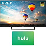 Sony XBR-55X800E 55-inch 4K HDR Ultra HD Smart LED TV (2017 Model) w/Hulu $25 Gift Card (Electronics)