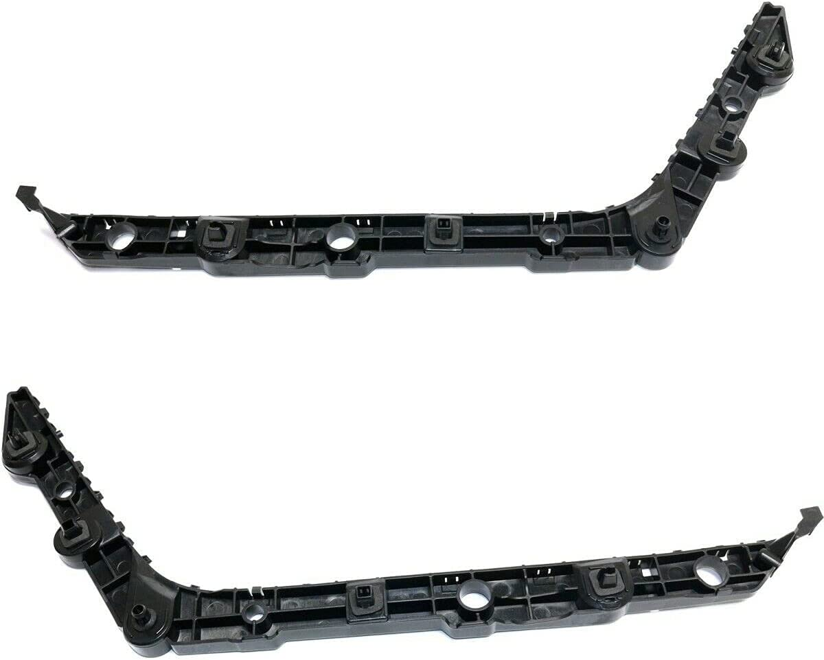 Set of 2021new shipping free shipping 2 Bumper Face Pair Fresno Mall Left-and-Right Bar Rear Brackets