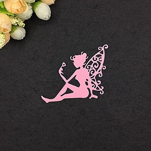 Angle Fairy Metal Paper Cutting for Finally popular brand Scrapbooki Dies discount DIY Stencils
