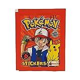 Merlin Pokémon Topps 1ª serie (álbum rojo de 1999) Booster