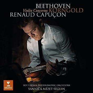 Beethoven & Korngold: Violin Concertos