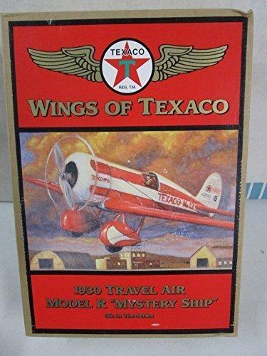 Wings of Texaco 1930 Travel Air Model R Mystery Ship Airplane by Texaco