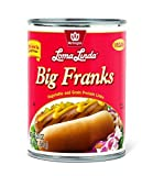 Loma Linda - Plant-Based - Big Franks (20 oz.) (Pack of 12) - Kosher