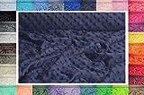 Minkee Winky Grübchen Punkt stoff, dickflüssig