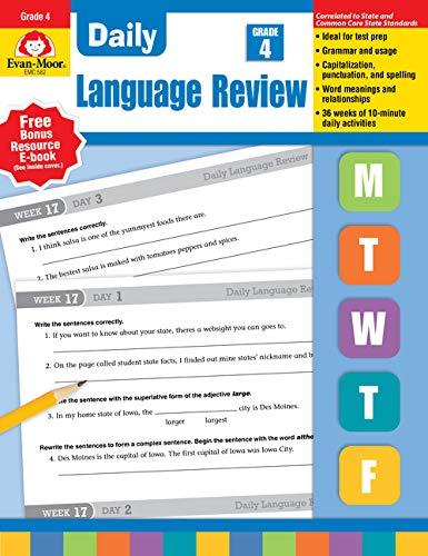 Daily Language Review, Grade 4