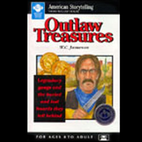 Outlaw Treasures audiobook cover art