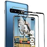 Galaxy S10 Plus Film Protection Ecran Verre Trempé, [2 Pièces] [Dureté 9H] [Ultra Claire] [sans Bulles] Film Protecteur en Verre trempé de Haute qualité pour Samsung Galaxy S10 Plus