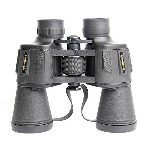 RDJM Jumelles Compactes Pliables 10X50, Vision Nocturne Basse Lumière pour La Chasse en Plein Air Randonnée