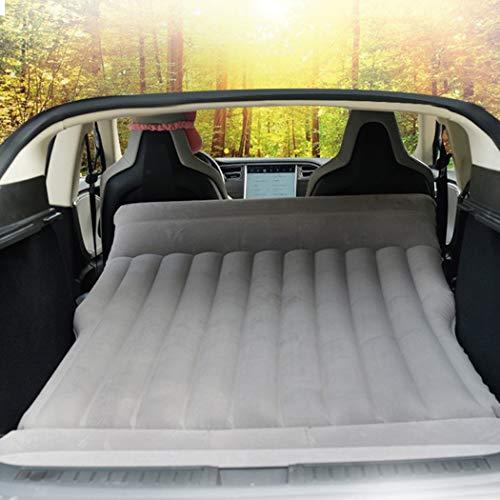 TeslaWorld Auto-Luftbett, aufblasbare Matratze für Camping, Reisen, passend für Modell S und Modell X 5-Sitzer