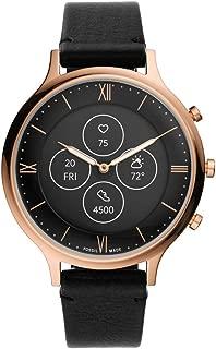 Fossil Charter Hybrid Hr Smartwatch Analog-Digital Black Dial Women's Watch-FTW7011