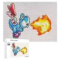 Super Mario Bros ジグソーパズル 1000ピース diy 絵画 学生 子供 TOYS Jigsaw Puzzle 木製パズル 溢れる想い おもちゃ 幼児 アニメ 漫画 プレゼント エンスカイ 冒険 ニンテンドー Game スーパーマリオへ 壁飾り 無毒無害 ギフト クリスマス