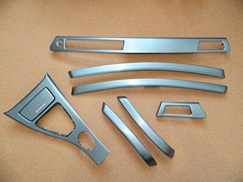 Dekorleisten Interieurleisten BMW E90 E91 Stahl 3D Struktur Folien Set