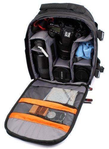 DURAGADGET Mochila Resistente Al Agua para SLR & Digital SLR Cámaras + Funda Impermeable Fotografiar Bajo La Lluvia!