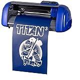 15' USCutter Table Titan 3 Craft Vinyl Cutter w/ARMS Contour Cutting + Design & Cut Software