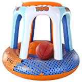 JOYIN Floating Inflatable Basketball Hoops Game Set - Fun Swimming Pool Accessories, Best Swimming Pool Games for Summer, Birthday, Parties,Party Favors and Outdoor Fun