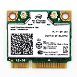 Intel Dual Band Wireless-N 7260 7260HMW AN 802.11a/b/g/n、デュアルバンド、2x2 対応 Wi-Fi + Bluetooth 4.0 無線LANカード