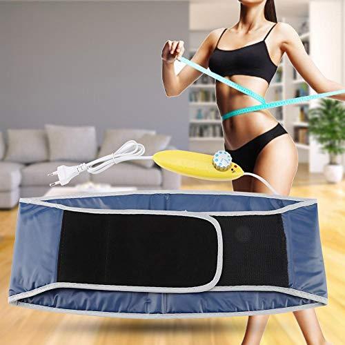 Cinturón de corte de cintura, cuerpo eléctrico Cintura adelgazante Sauna Cinturón de barriga Pérdida de peso Quemador calórico ajustable, Cinturón adelgazante de cintura para entrenamiento Pérdida de
