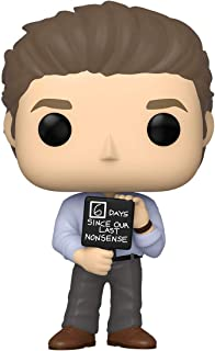 Funko Pop! TV: The Office – Letrero de Jim con Tonterías, 3.75 pulgadas