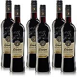 6 Flaschen Rotwild Réserve Selection QbA, halbtrocken Rotwein Weinpaket (6x0,75l)