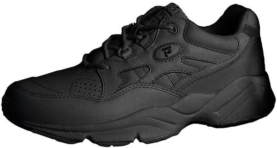 Propet Women's Stability Walker Shoe White 8 E (4E)