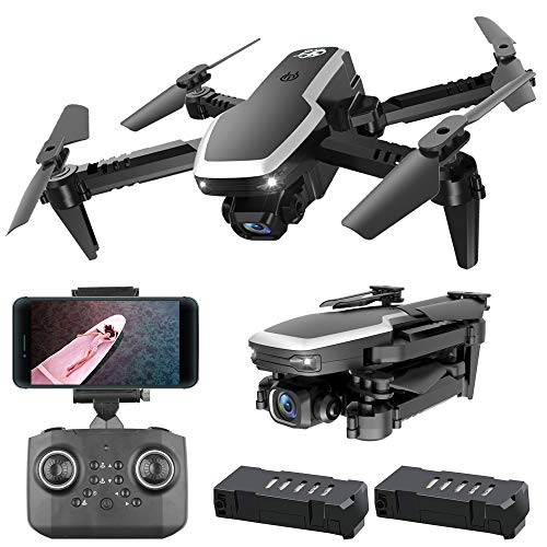 YKRC Mini Drone for Kids with 4K HD FPV Camera Quadcopter Best Drone for Kids and Beginners RC, 3D Flips, Headless Mode and Extra Batteries Toys for Boys and Girls