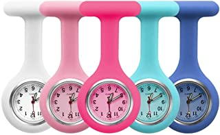 5pcs Silicone Nurses Watch (Practical Colour)