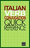 Italian Verb Conjugation Quick Reference