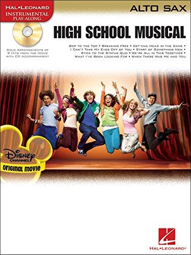 High School Musical – Selections (Alto Saxophone). Partitions, CD pour Saxophone Alto