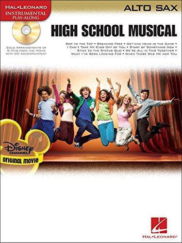High School Musical – Selections (Alto Saxophone). Partitions, CD pour Saxophone Alto