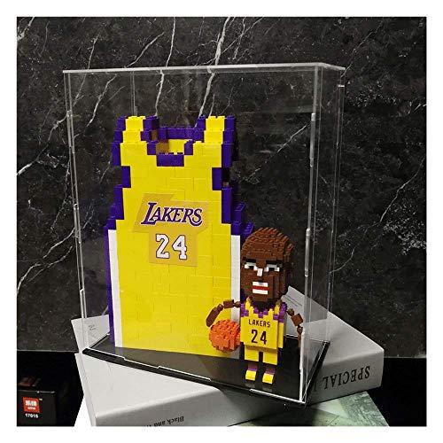 LKITYGF Perfekt NBA Lakers Kobe's Micro-Partikel Bausteine-Basketballspieler-Sternmodell, Souvenirs/Sammlerstücke/Kunsthandwerk, NBA Kobe Bryant Action Humanoide Geschenkbox Set
