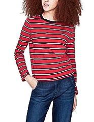 Camiseta Pepe Jeans Aleta Rojo para Mujer
