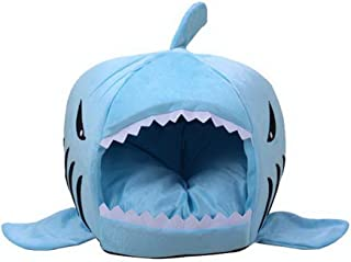 Meet Color Waterproof BottomShark Bed for Small Cat Dog Cave Bed Removable Cushion