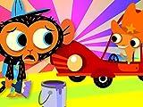 Mr. Chameleon's Car Needs New Paint
