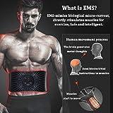 Zoom IMG-1 moonssy elettrostimolatore per addominali muscolare