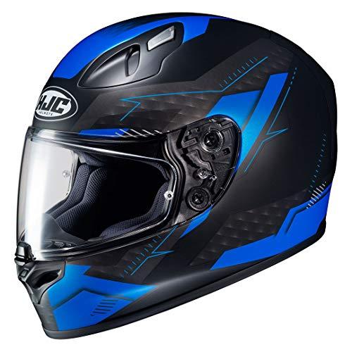 Casco de moto HJC FG-17 TALOS MC2SF, Negro/Azul, M