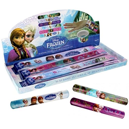 BG 1 Bracelet Clap Slap Reine des NEIGES Frozen 22 CM Disney
