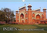 INDIEN - bunt und geheimnisvollCH-Version (Wandkalender 2022 DIN A4 quer): Indien, geheimnisvolle Tempel (Monatskalender, 14 Seiten )