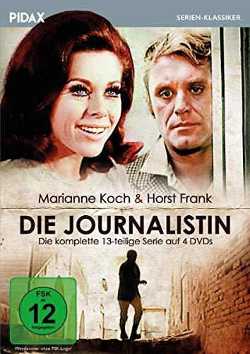 Die Journalistin / Die komplette 13-teilige Serie mit Starbesetzung (Pidax Serien-Klassiker) [4 DVDs]
