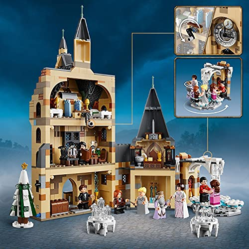 LEGO-75948-Harry-Potter-Hogwarts-Castle-Clock-Tower-Toy-Compatible-with-Great-Hall-and-Whomping-Willow-Sets