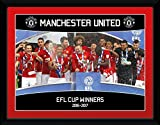 GB Eye LTD, Manchester United, EFL Cup Winners 16/17, Fotografía enmarcada 30x40 cm
