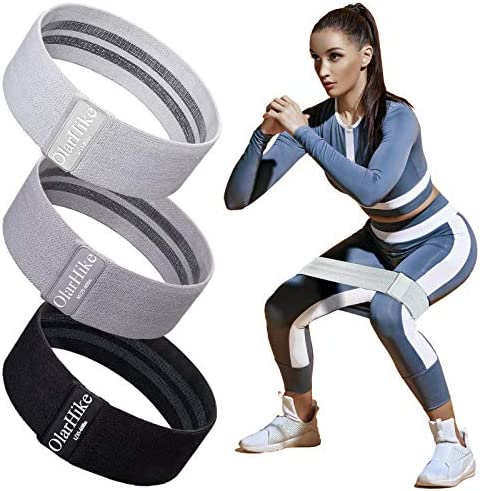 OlarHike Resistance Bands Set for Women Butt and Legs Exercise Workout Elastic Bands for Booty product image