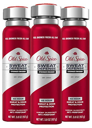 Old Spice Antiperspirant Deodorant for Men, Pure Sport Body Spray, High Endurance Collection, 6 Oz (Pack of 3)