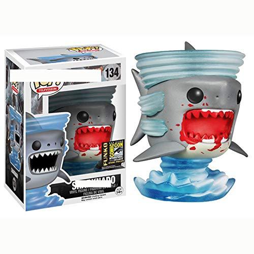 YUY Funko Pop Shark Shark Wind Shark Tornado Movie Figura Periférica,A