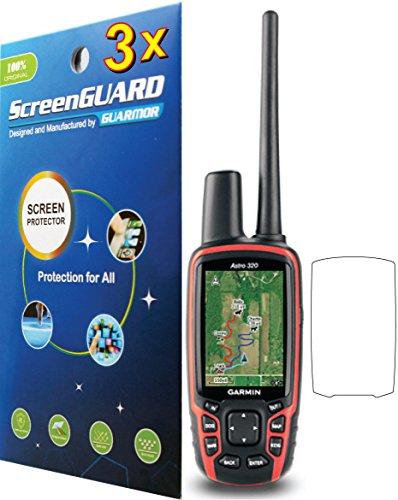 3pcs Premium Clear LCD Screen Protector Guard Film for Garmin Astro 430 320 220 GPS