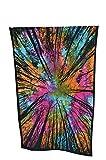 MY DREAM CARTS árbol de langosta de algodón indio pequeño colgar de la pared poster tamaño tapiz de bohemia