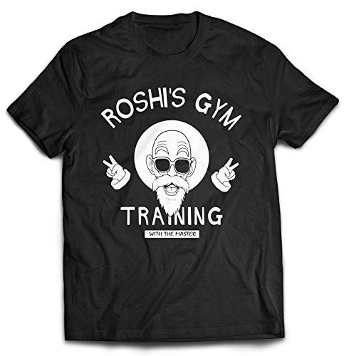 Revel Shore - Master Roshi T-Shirt (X-Large, Black)