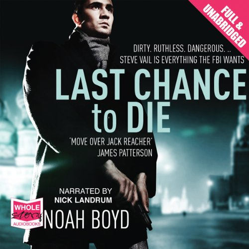 Last Chance to Die audiobook cover art