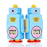 Retevis RT36 Walkie Talkies for Kids,Easy to Use Kids Walkie Talkies Toy Long Range,10 Call Tone,Build-in Flashlight,Toys for Boys Girls for Outdoor Adventure(Blue, 2 Pack)